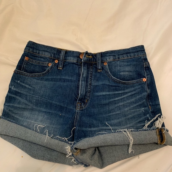 Madewell Pants - high wasted shorts
